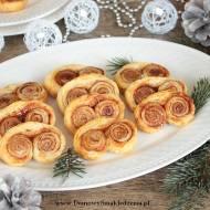 zakręcone ekspresowe francuskie ciasteczka z cynamonem