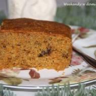 Ciasto marchewkowo-pomarańczowe i