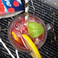 Drink malinowy z ginem