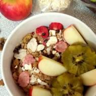 Healthy breakfast (musli)