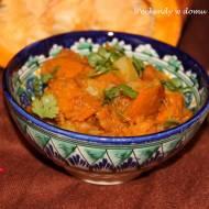 Sabji z ziemniaków i dyni oraz