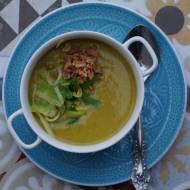 Aksamitna zupa z porów