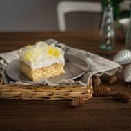 Ciasto z ananasem i galaretką