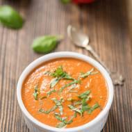 Kremowy sos z pieczonej papryki