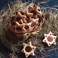 Gwiazdki kakaowo-waniliowe z gianduią