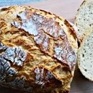 Pszenny chleb z twarogiem