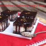 Ciasto czekoladowe z kokosową masą z kaszy manny