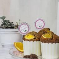 Muffiny z czekoladą i pomarańczą