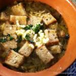 Zupa cebulowa trochę po mojemu