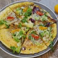 Jajeczna pizza