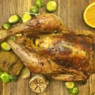Niedziela: Kurczak w cytrusach z ziemniakami Hasselback