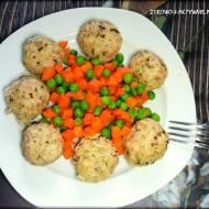 Kotleciki ryżowe z mięsem