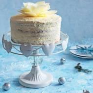 Tort marchewkowy z marmoladą dyniowo-jabłkową i kremem kokosowym