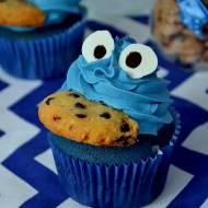Babeczki Ciasteczkowy Potwór – Blue Velvet Cupcakes