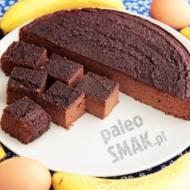 Brownie bananowe (ciasto czekoladowe paleo)