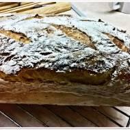 Dyniowy chleb na zakwasie orkiszowym