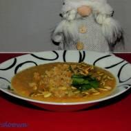 Zupa czosnkowo - chrzanowa