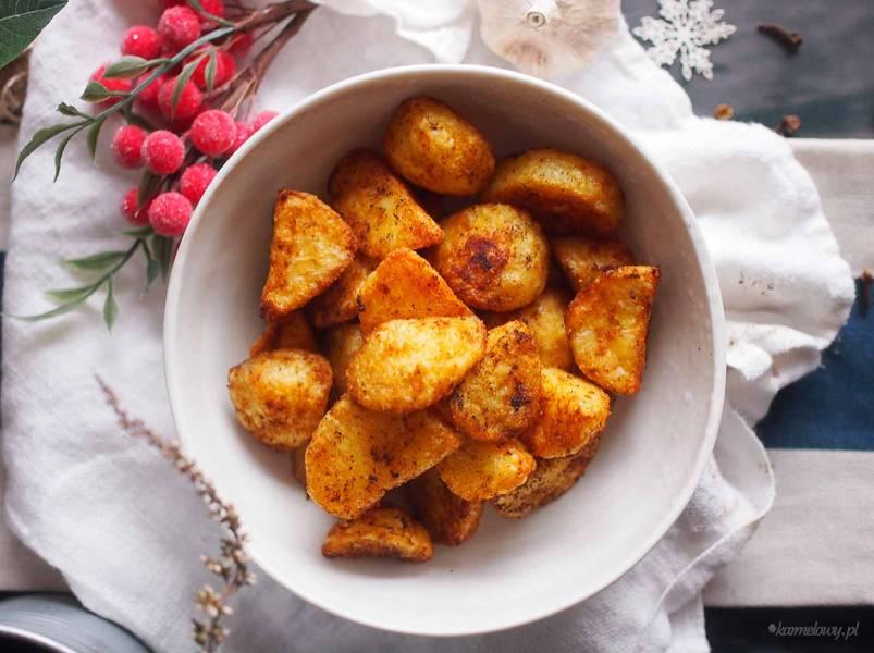 Pieczone ziemniaki z wędzoną papryką/ Paprika roasted potatoes