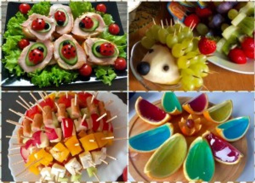 Przyjęcie dla dzieci! Pomysły na smaczne i kolorowe dania oraz przekąski :)