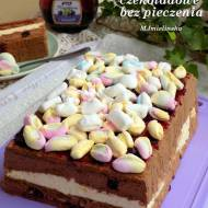 ciasto czekoladowe z marshmallow (bez pieczenia)