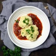 Kalafior w pikantnym sosie pomidorowym (dieta dr. Dąbrowskiej)