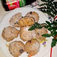 Owsiane ciasteczka na soku jabłkowo-malinowym