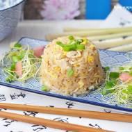 Ryż jaśminowy z kurczakiem smażony na sposób tajski