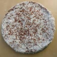 Tort kokosowo-czekoladowy z wiśniami