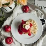 Placuszki jaglane z jabłkiem