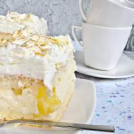 Ciasto cytrynowo - ananasowe