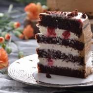 KREM ŚMIETANOWY Z BIAŁĄ CZEKOLADĄ / tort