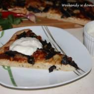 """Pizza z suszonymi grzybami i """"Pudełko z marzeniami"""""""