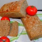 Chleb pszenny graham na zakwasie żytnim