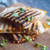 Szybka quesadilla z wołowiną / Easy beef quesadilla