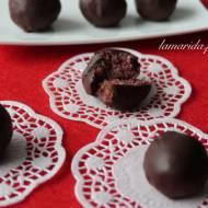 Trufle wiśniowe w czekoladzie