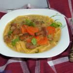 Zupa ze świeżych podgrzybków z mlekiem kokosowym
