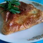 Ciasto francuskie ze szpinakiem i ricottą