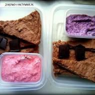 Ciasto czekoladowe z kaszy jaglanej+dodatki=idealne danie na wynos