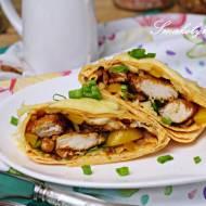 Bombowe tortille z kurczakiem i serem