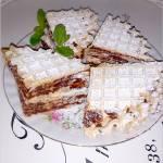 Kakaowe wafelki (z podpłomyków)