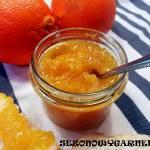 Konfitura z pomarańczy