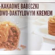 BABECZKI OWSIANO-KAKAOWE Z ORZECHOWO-DAKTYLOWYM KREMEM