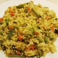 Ryż z warzywami z curry... :)