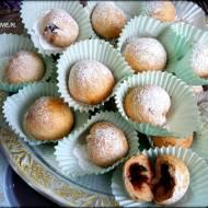 Zdrowe mini pączki orkiszowe z piekarnika bez cukru