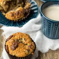 Najlepsze muffiny bananowe z kawałkami czekolady…