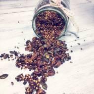 Czekoladowa granola gryczana (bez płatków owsianych)