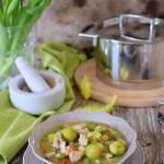 Cięlęcina z warzywami w koperkowym sosie i recenzja garnka Zwilling