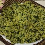Placki z kaszy jaglanej i szpinaku z piekarnika lub smażone - placki bezglutenowe