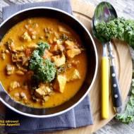 Kokosowe curry z kurczaka i jarmużu. Dieta szybka przemiana. Faza III