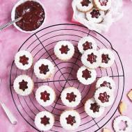 Linzer cookies- ciastka z dziurką